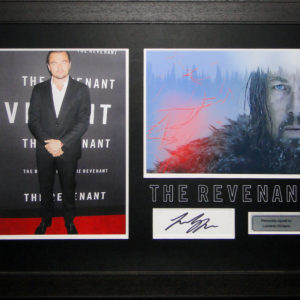 Leonardo DiCaprio The Revenant Signed Presentation Framed