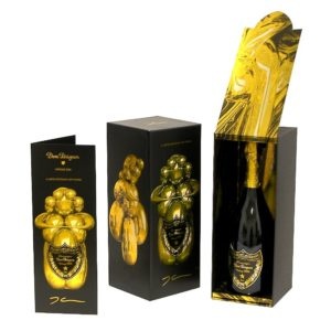 Dom Perignon 2004 Jeff Koons Champagne Gift Pack Limited Edition