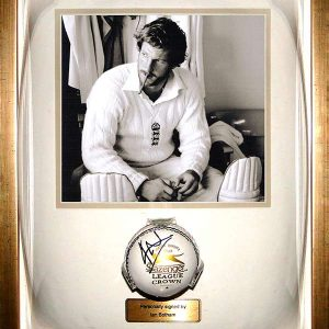 Sir Ian Botham Signed Presentation