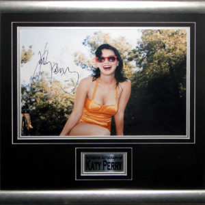 Katy Perry Signed Presentation Framed