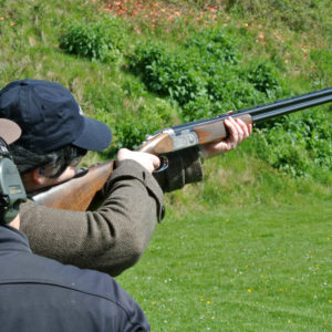 Clay Pigeon Shooting at Award-Winning E.J. Churchill Ground for 2 people