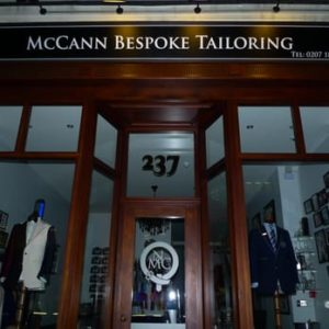 McCann Bespoke Men's Suit Tailoring in London