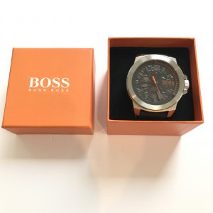 Men's Hugo Boss Orange Watch