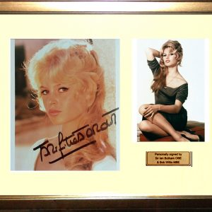 Brigitte Bardot Signed Presentation