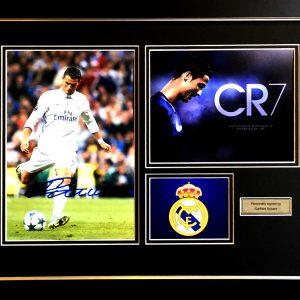 Cristiano Ronaldo Signed Presentation