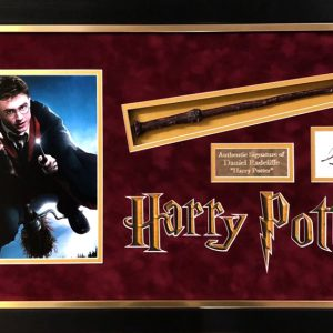 Daniel Radcliffe Harry Potter Signed Presentation