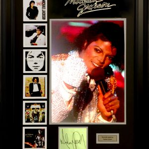 Michael Jackson Signed Presentation