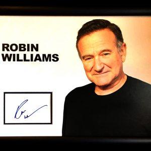 Robin Williams (1951-2014) Signed Presentation