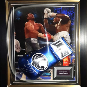 Anthony Joshua Signed Presentation