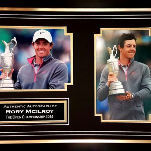 Rory McIlroy Signed Presentation