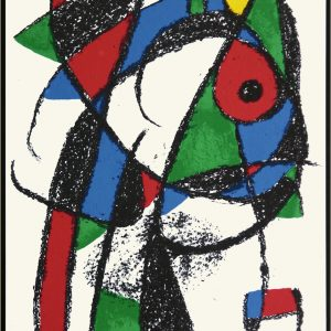 Joan Miro: 'Untitled' Original Lithograph Framed
