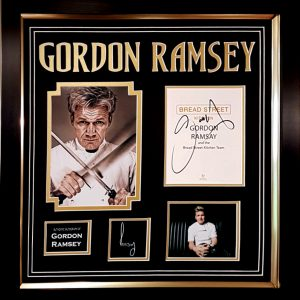 Gordon Ramsay Signed Presentation