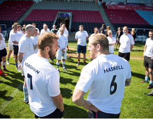 Exclusive Training & Dining with England International Rugby Players