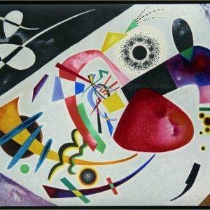 Wassily Kandinsky: Tache Rouge Original Lithograph Framed