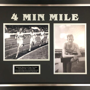 Sir Roger Bannister Signed Presentation