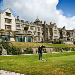 Luxurious Spa Break with Dinner, Treatments and Breakfast at 5* Bovey Castle for 2 people