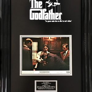 "Al Pacino ""The Godfather"" Signed Presentation Framed"